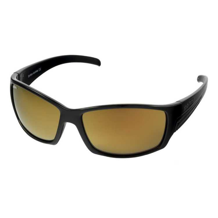 Spotters Fury Sunglasses Gloss Black & Gold