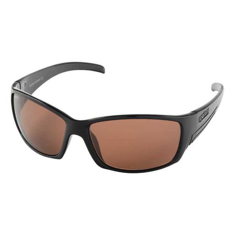 Spotters Fury Sunglasses Gloss Black & Halide