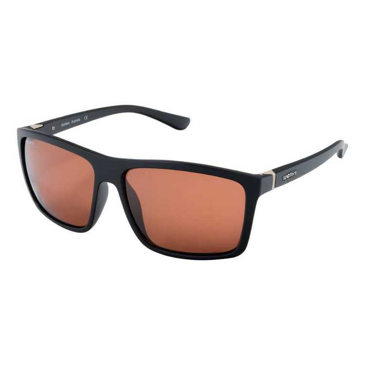 Spotters Grayson Sunglasses Matte Black & Halide