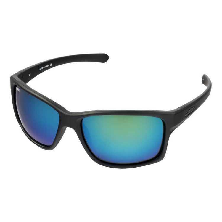 Spotters Grit Sunglasses Matte Black & Nexus
