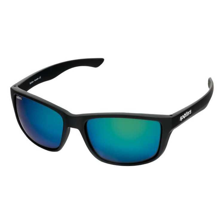 Spotters Rebel Sunglasses Matte Black & Nexus