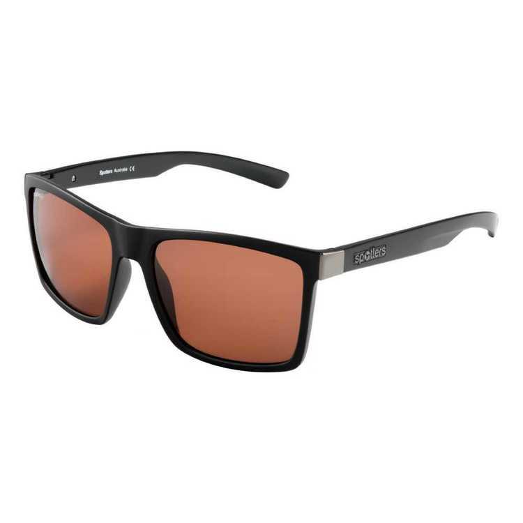 Spotters Riot Sunglasses Matte Black & Halide