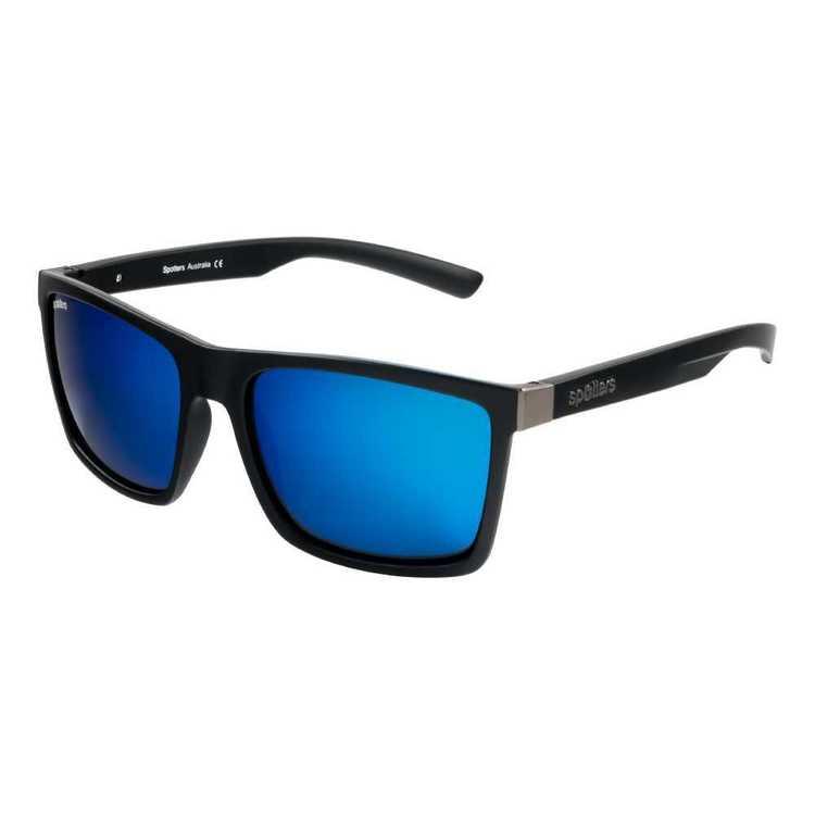 Spotters Riot Sunglasses Matte Black & Ice