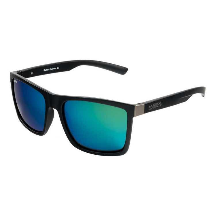 Spotters Riot Sunglasses Matte Black & Nexus