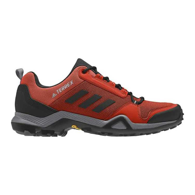 adidas Men's Terrex AX3 Shoes Grey, Core Black & Red