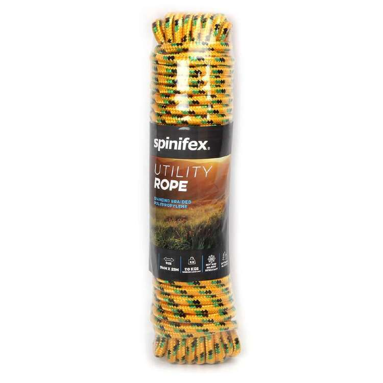 Spinifex Utility Rope 9mm x 25 Metres