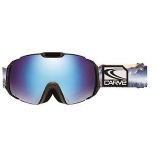 Carve Men's Platinum Snow Goggle