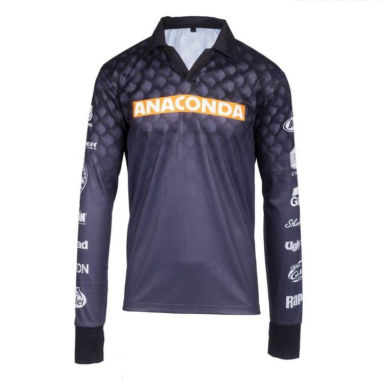 Anaconda Kids' Sublimated Fishing Shirt