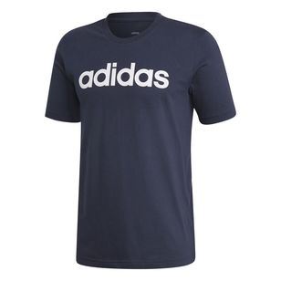adidas Men's Essentials Linear Logo Tee