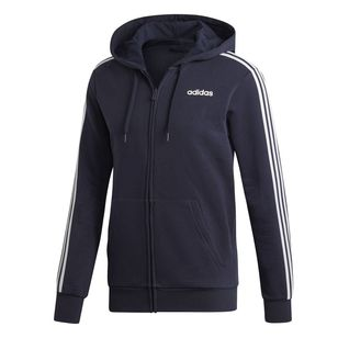 adidas Men's Essentials 3 Stripes Fleece Hoodie