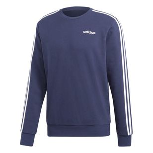 adidas Men's Essentials 3 Stripes Sweatshirt