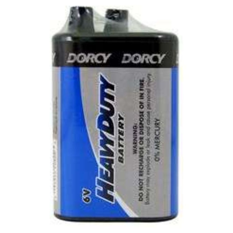 Dorcy Mastercell Heavy Duty 6V Battery