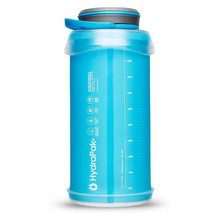 HydraPak Stash 1L Water Bottle