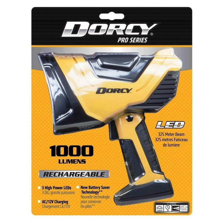 Dorcy Pro 1000 Lumen Rechargeable Spotlight