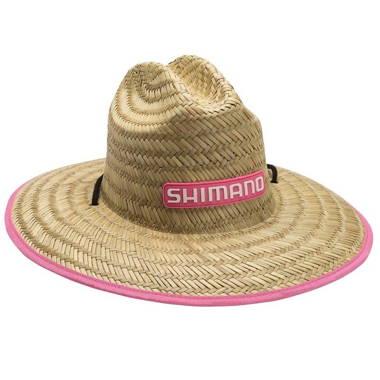 Shimano Women's Sun Seeker Pink Straw Hat