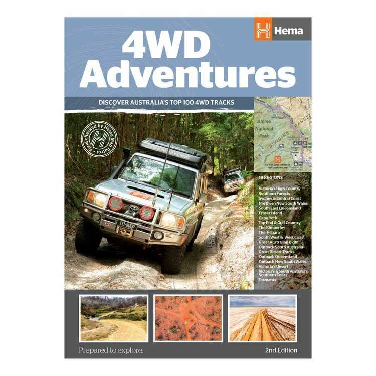 Hema 4WD Adventures Book (2nd Edition)