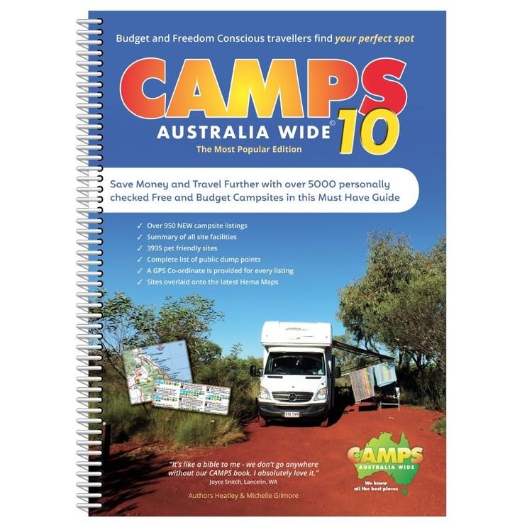 Camps Australia Wide 10 Spiral Book