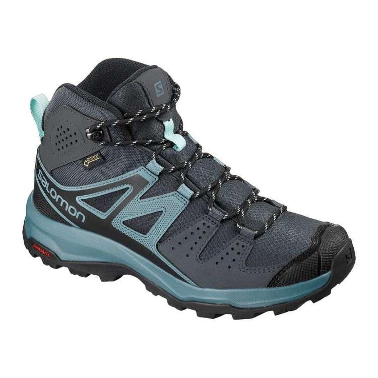 05d05d8f803 Salomon X Radiant GTX Women's Mid Hiking Shoes Ebony & Bluestone