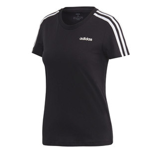 adidas Women's Essentials 3 Stripes Tee