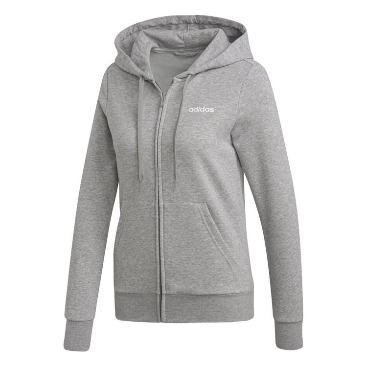 adidas Women's Essentials Plain Full-Zip Hoodie