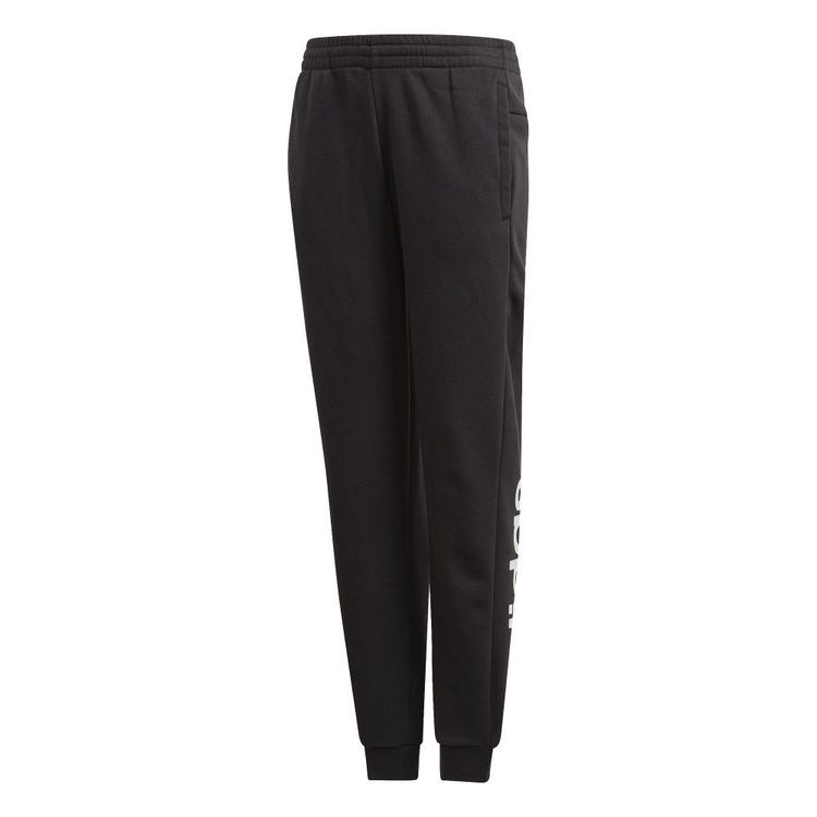 adidas Girl's Essentials Linear Pants Black & White