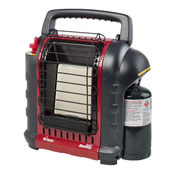 Mr Heater Portable Buddy Heater Red & Black