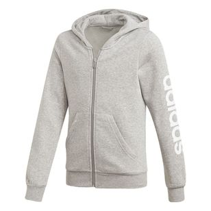 adidas Girl's Essentials Linear Hoodie