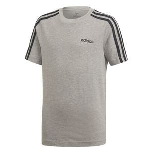 adidas Boy's Essentials 3 Stripes Tee