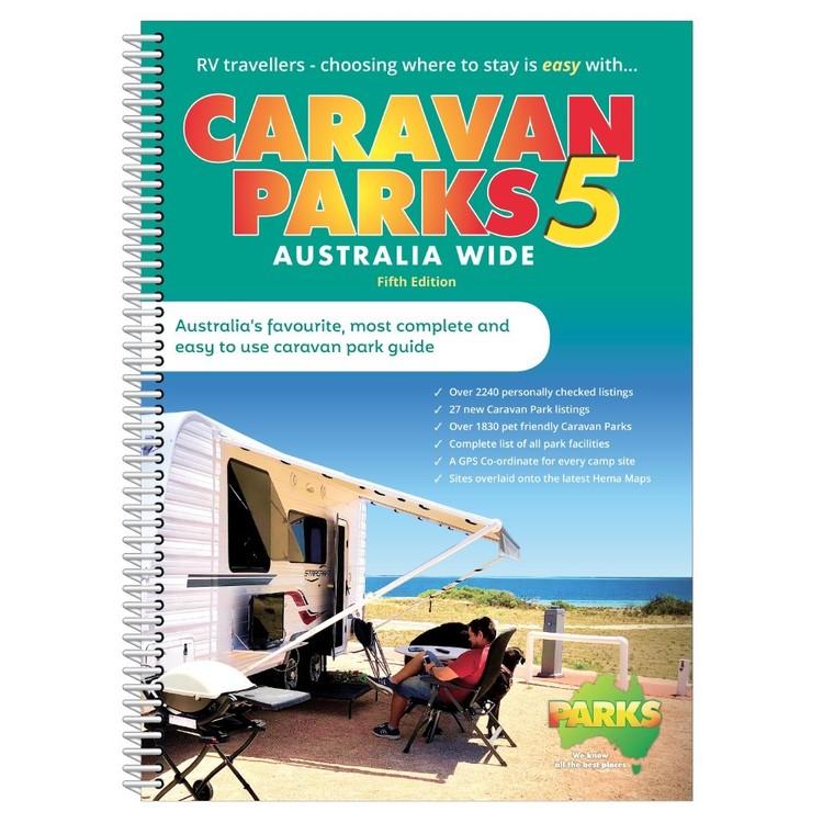 Caravan Parks 5 Australia Wide Spiral Book