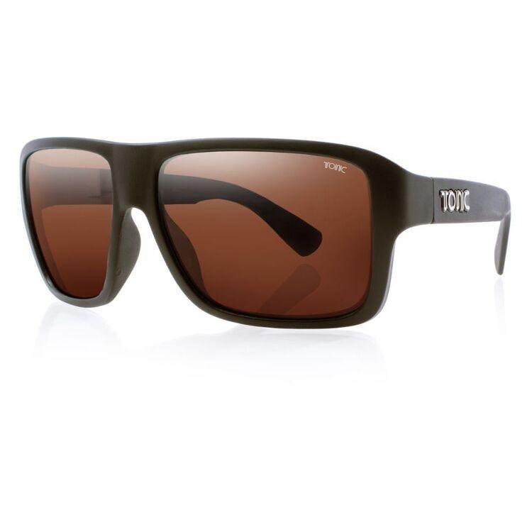 Tonic Swish Sunglasses Matte Black & Photochromic Copper