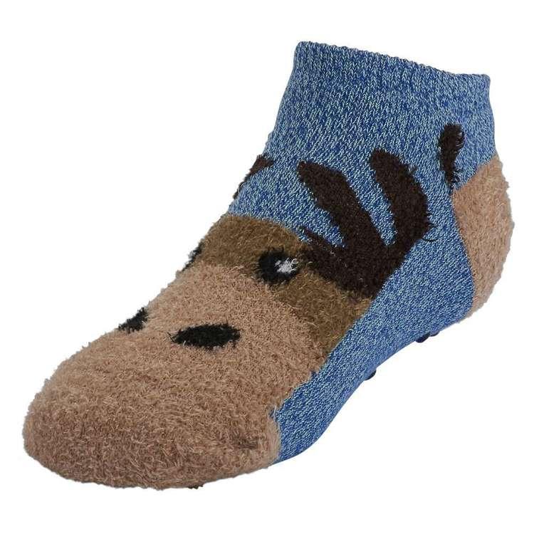 SOF Sole Kids' Fireside Moose Socks