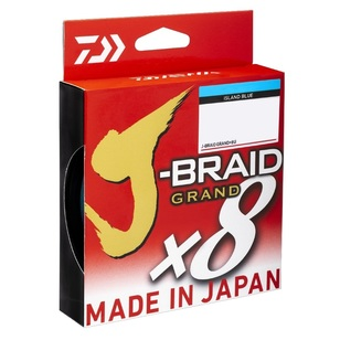 Daiwa J-Braid Grand 150 Yard Braid Line
