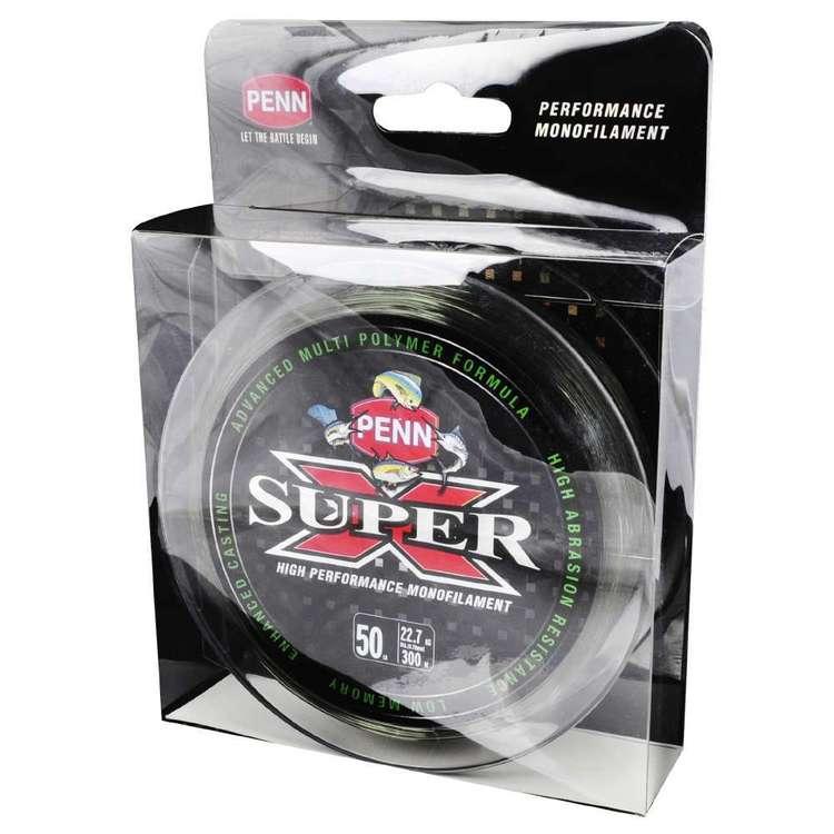 Penn Super X 300 Metre Mono Line