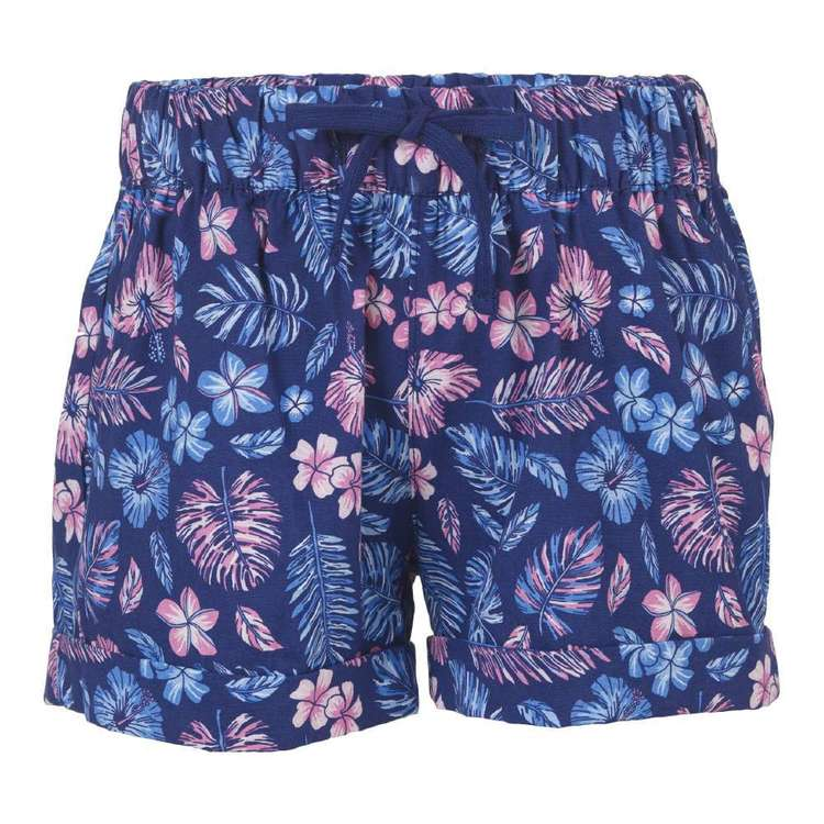 Cape Youth Floral Print Shorts