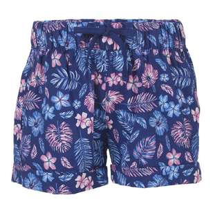 Cape Kids' Floral Print Shorts
