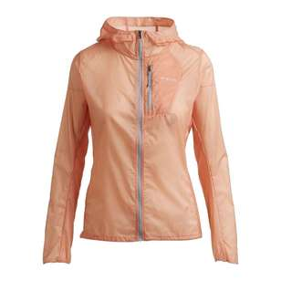 Mountain Designs Women's Barrier Hooded Jacket Peach