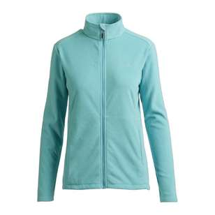 Mountain Designs Womens Navis Full Zip Fleece Jacket Turquoise