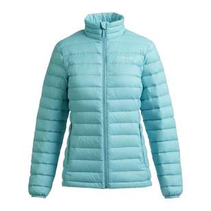 Mountain Designs Women's Ascend 600 Down Jacket Turquoise