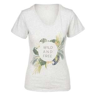 Cape Women's Lacey Wild Short Sleeve Tee