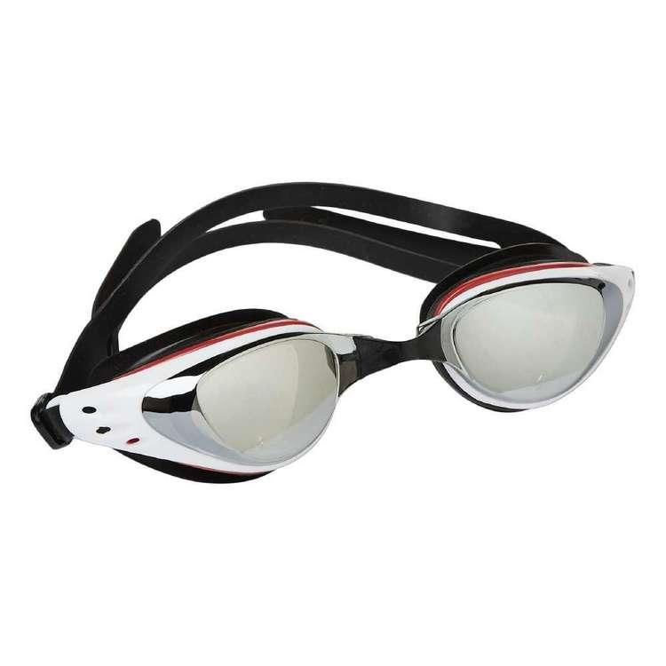 Body Glove Adults Red & White Swim Goggles