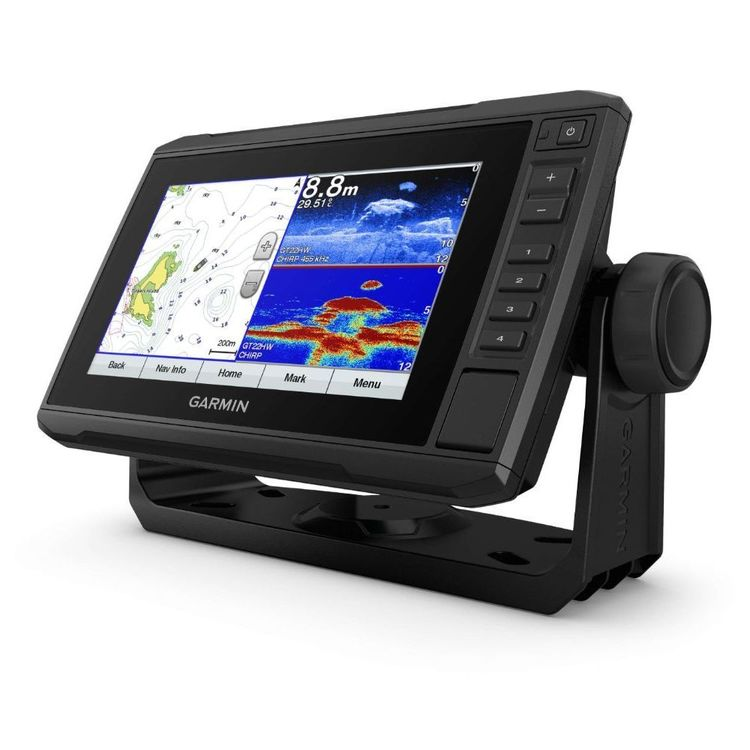 Garmin echoMAP Plus 75SV AU/NZ Chartplotter with CHIRP Sonar Black