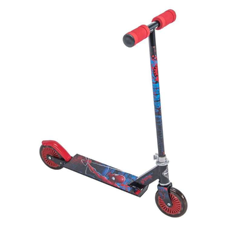 Huffy Spider-Man Scooter Black & Red