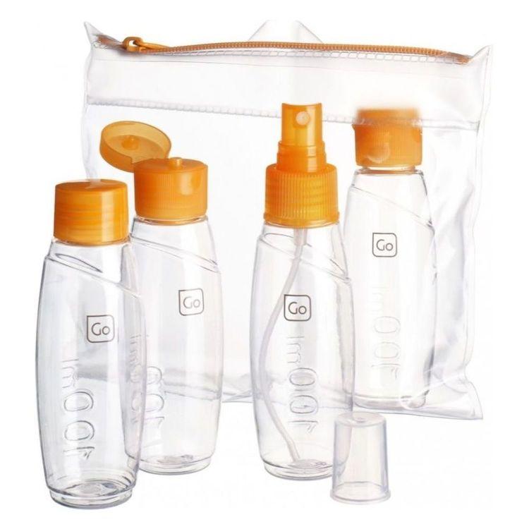 Go Travel Cabin Bottle Set