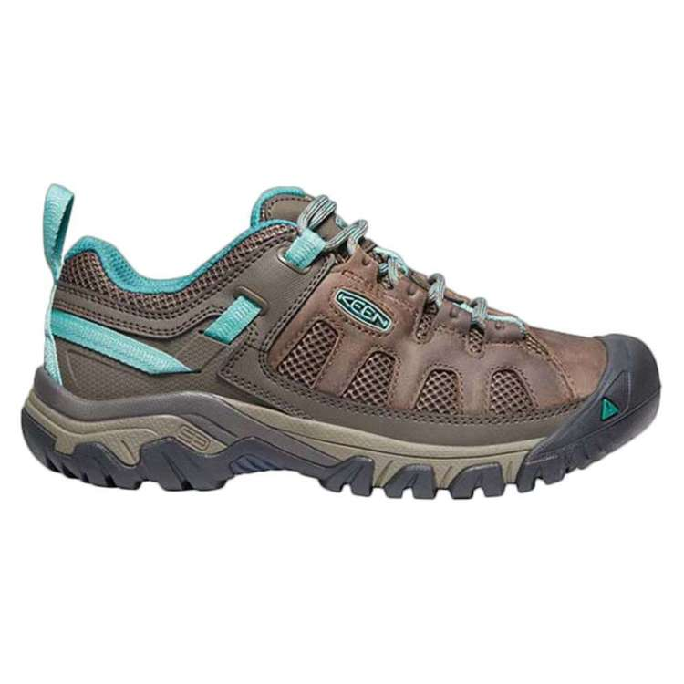 KEEN Women's Targhee Vent Low Hiking Shoes Bungee Cord Canton