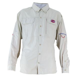 Penn Oatmeal Vented Fishing Shirt