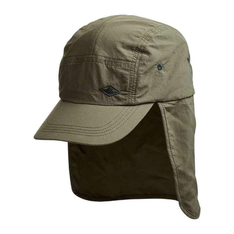 Mountain Designs Jounama Unisex Cape Hat Khaki