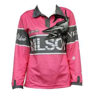 Wilson Team Pink Fishing Shirt