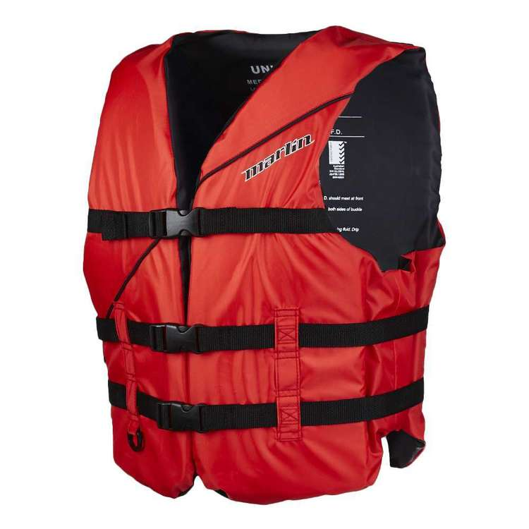 Marlin Universal L50/L50S Adult PFD Red