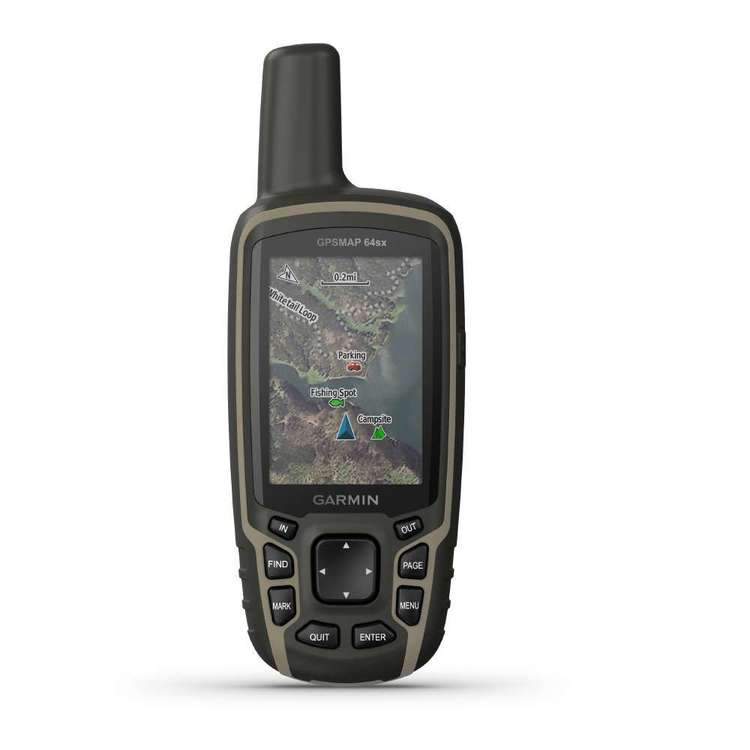 Garmin GPSMAP 64sx Handheld GPS with Navigation Sensors Black