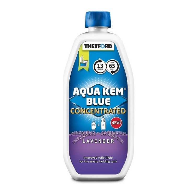 Thetford Aqua Kem Blue Lavender Concentrated Toilet Fluid 780mL Lavender